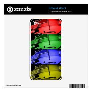 Mandolin Instrument Skins For iPhone 4S