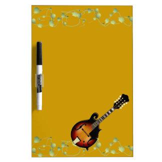 Mandolin Mustard Dry Erase Board