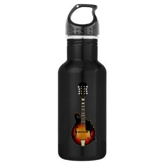 Mandolin Mustard Water Bottle