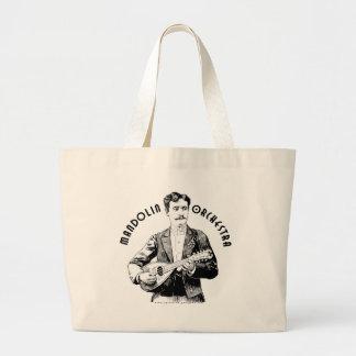 Mandolin Orchestra Large Tote Bag