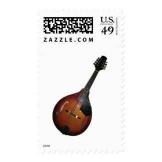 Mandolin Picker Postage Stamps