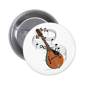 Mandolin Pinback Button