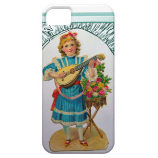 Mandolin player figurine iPhone SE/5/5s case