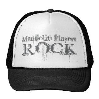 Mandolin Players Rock Trucker Hats