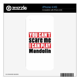 Mandolin Scare Designs iPhone 4 Skins
