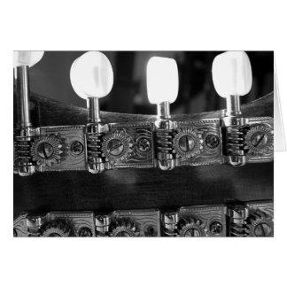 Mandolin Tuning Pegs Card