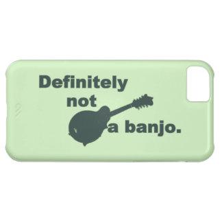 Mandolina -- Definitivamente no un banjo Funda Para iPhone 5C
