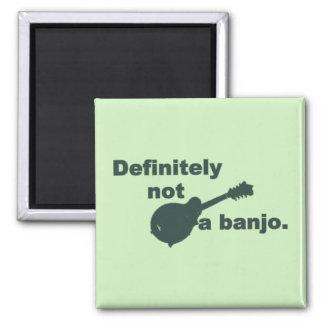 Mandolina -- Definitivamente no un banjo Imán Cuadrado