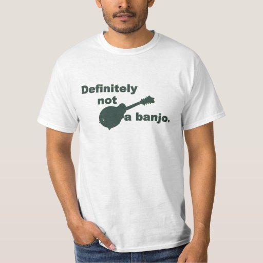Mandolina -- Definitivamente no un banjo Playera