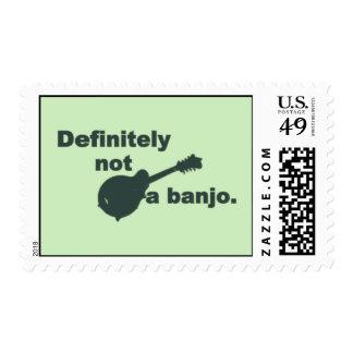 Mandolina -- Definitivamente no un banjo Timbres Postales