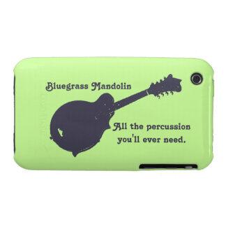 Mandolina del Bluegrass - toda la percusión que iPhone 3 Cárcasas