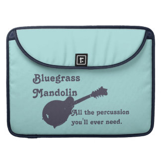Mandolina del Bluegrass - toda la percusión que us Fundas Para Macbooks