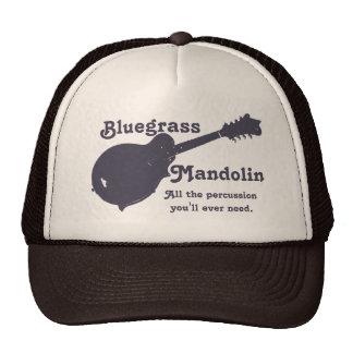 Mandolina del Bluegrass - toda la percusión que us Gorras
