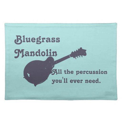 Mandolina del Bluegrass - toda la percusión que us Mantel