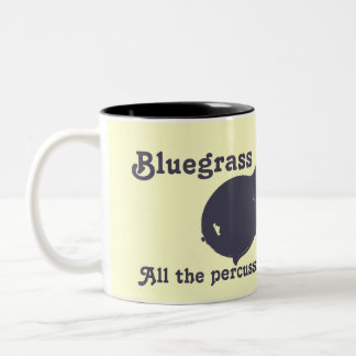 Mandolina del Bluegrass - toda la percusión que us Tazas