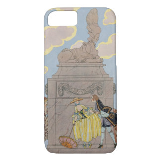 Mandoline, illustration for 'Fetes Galantes' by Pa iPhone 8/7 Case