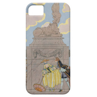 Mandoline, illustration for 'Fetes Galantes' by Pa iPhone SE/5/5s Case