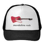 Mandolins Rock electric mandolin trucker hat