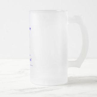 Mandón Taza De Cristal