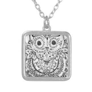 Mandowla Silver Plated Necklace
