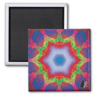 Mandril Kaleidoscope Magnet