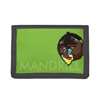 MANDRIL TRI-FOLD WALLET