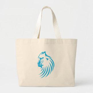 Mandrill en estilo del dibujo del chasquido bolsas