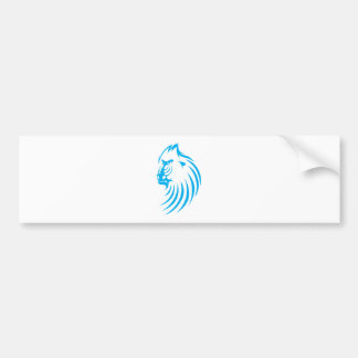 Mandrill in Swish Drawing Style Bumper Sticker