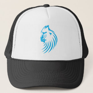 Mandrill in Swish Drawing Style Trucker Hat