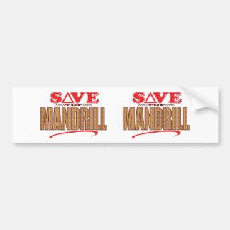Mandrill Save Bumper Sticker