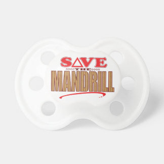 Mandrill Save Pacifier