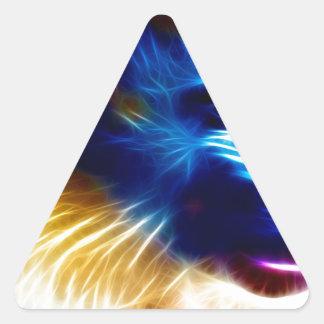 Mandrill Triangle Sticker