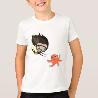 Mandy and Bubbles the Octopus T-Shirt