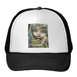 Mandy and fish trucker hat