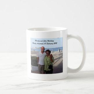 Mandy and John Weddding Souvenirs Coffee Mug