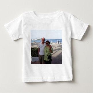Mandy and John Wedding souvenirs Baby T-Shirt