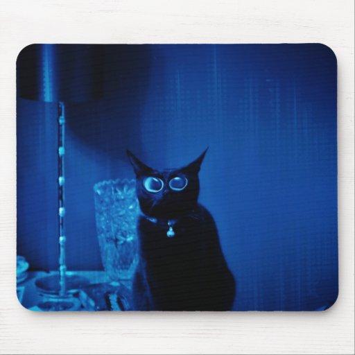 Mandys consiguió los azules mouse pad