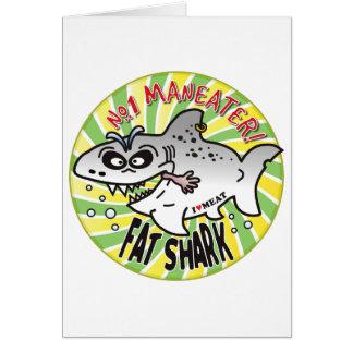 Maneater Fat Shark Cards