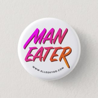 Maneater pin / button