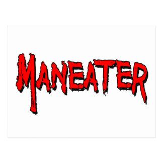 Maneater Postcard