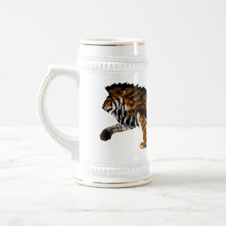 Maned Tiger Mug