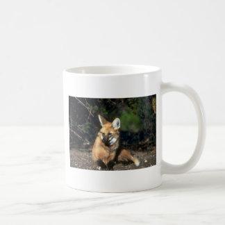 Maned Wolf lying down Mug