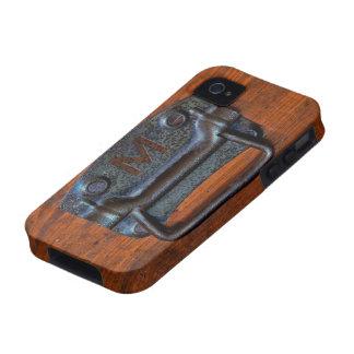 """Maneje el caso del iPhone 4 de la inicial """"M"""" iPhone 4/4S Carcasas"""