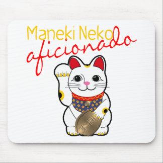 Maneki Neko Aficionado Mouse Pad