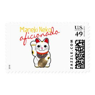 Maneki Neko Aficionado Stamp