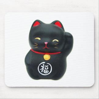 """Maneki Neko """"Beckoning Cat"""" Lucky Cat Mouse Pad"""
