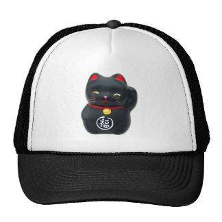"Maneki Neko ""Beckoning Cat"" Lucky Cat Trucker Hat"