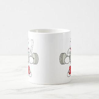 Maneki Neko Bicep Curl Coffee Mug