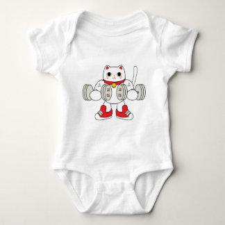 Maneki Neko Bicep Curl Shirt
