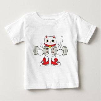 Maneki Neko Bicep Curl Tee Shirt